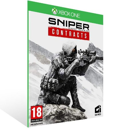 Sniper Ghost Warrior Contracts - Xbox One Live Mídia Digital