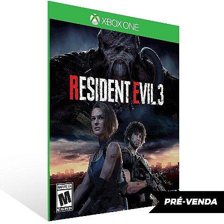 RESIDENT EVIL 3 - Xbox One Live Mídia Digital Pré-Venda 03/04/2020