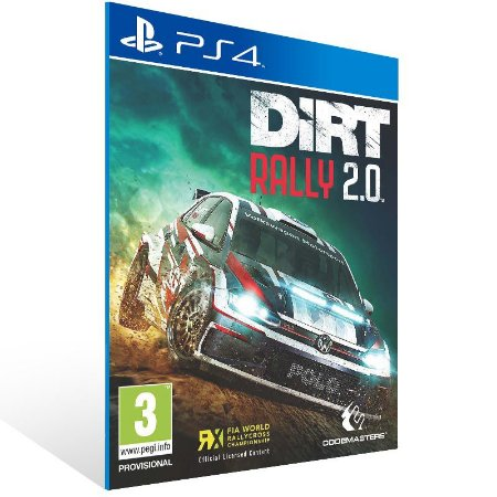 DiRT Rally 2.0 - Ps4 Psn Mídia Digital