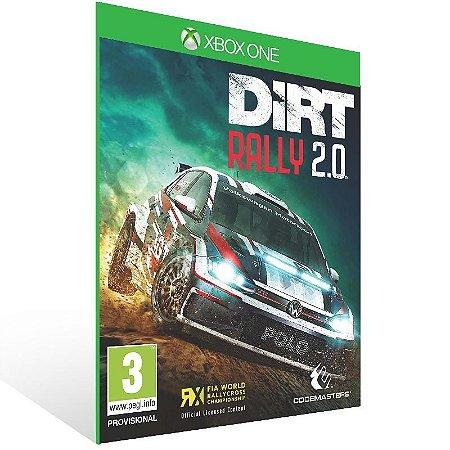 DiRT Rally 2.0 - Xbox One Live Mídia Digital
