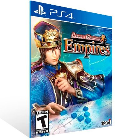 Dynasty Warriors 8 Empires - Ps4 Psn Mídia Digital