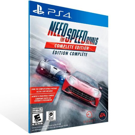Need For Speed Rivals Complete Edition - Ps4 Psn Mídia Digital