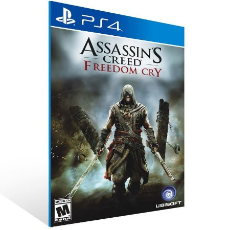 Assassins Creed Freedom Cry - Ps4 Psn Mídia Digital