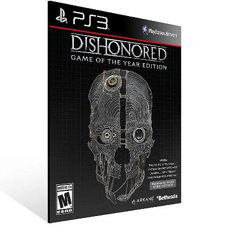 Dishonored - Ps3 Psn Mídia Digital