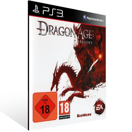 Dragon Age Origins - Ps3 Psn Mídia Digital