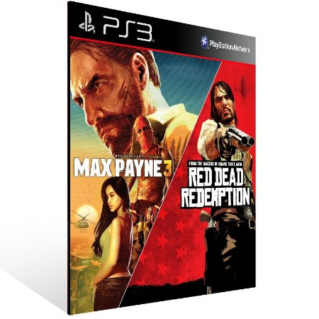 Max Payne 3 Complete Edition & Red Dead Redemption Bundle - Ps3 Psn Mídia Digital