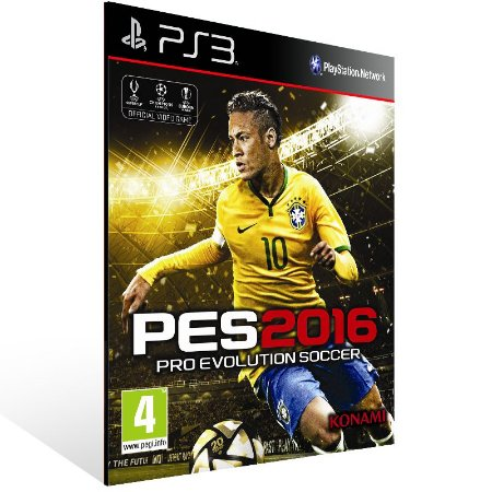 Pes 16 - Ps3 Psn Mídia Digital