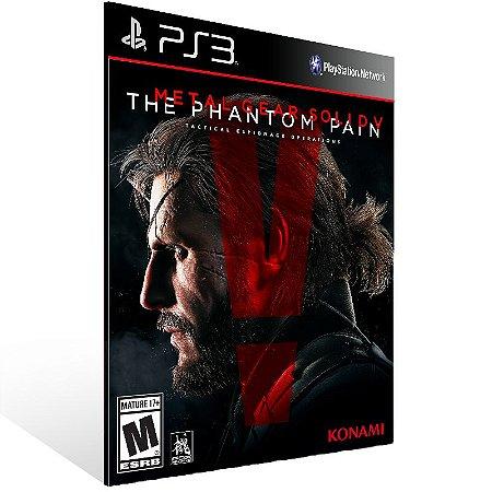 Metal Gear Solid 5 The Phantom Pain - Ps3 Psn Mídia Digital