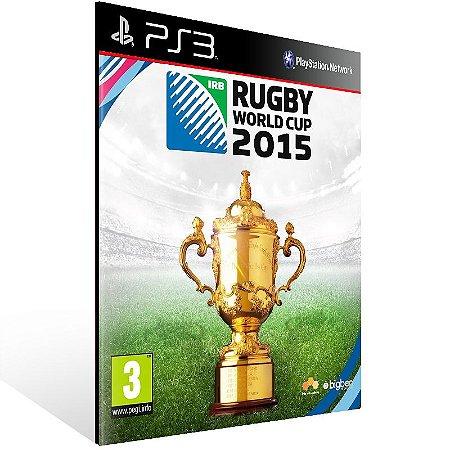 Rugby World Cup 2015 - Ps3 Psn Mídia Digital