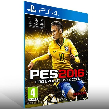 Pes 16 - Ps4 Psn Mídia Digital