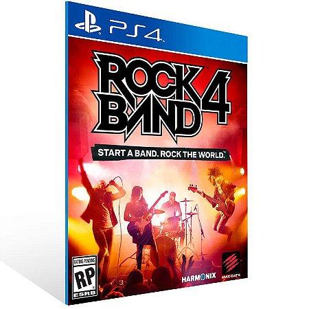 Rock Band 4 - Ps4 Psn Mídia Digital