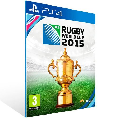 Rugby World Cup 2015 - Ps4 Psn Mídia Digital
