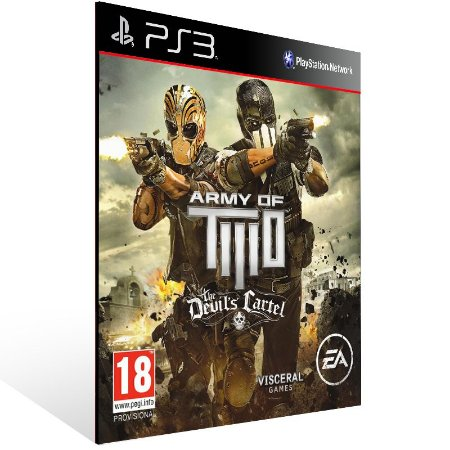 Army Of Two The Devils Cartel - Ps3 Psn Midia Digital