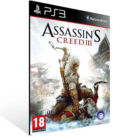 Assassins Creed 3 - Ps3 Psn Mídia Digital