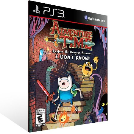 Adventure Time Explore The Dungeon Because I Dont Know - Ps3 Psn Midia Digital