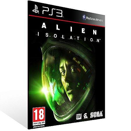 Alien Isolation - Ps3 Psn Midia Digital