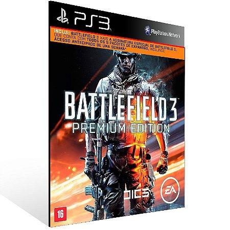 Battlefield 3 Premium Edition - Ps3 Psn Midia Digital