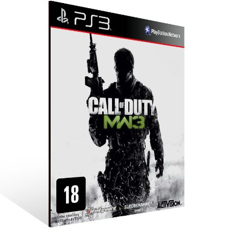 Call Of Duty Modern Warfare 3 + Dlc Collection 1 Combo - Ps3 Psn Mídia Digital