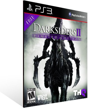 Darksiders 2 Ultimate Edition - Ps3 Psn Mídia Digital