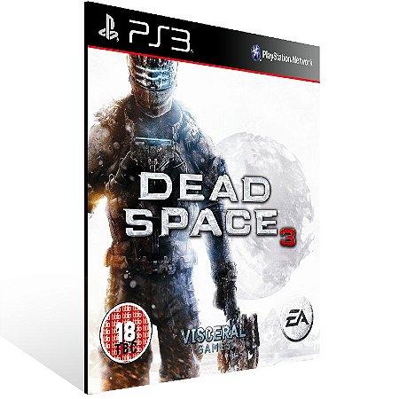 Dead Space 3 - Ps3 Psn Mídia Digital