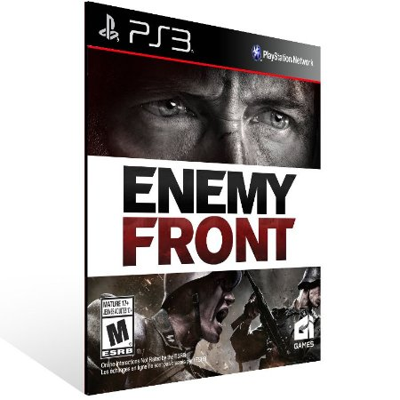 Enemy Front - Ps3 Psn Mídia Digital