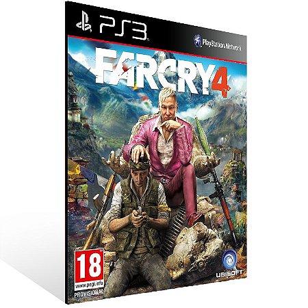 Far Cry 4 - Ps3 Psn Mídia Digital
