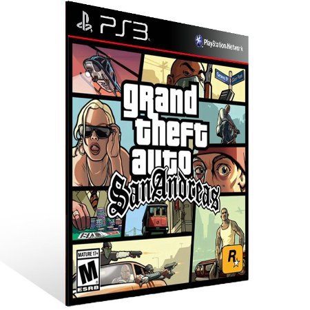 Grand Theft Auto Gta San Andreas - Ps3 Psn Mídia Digital