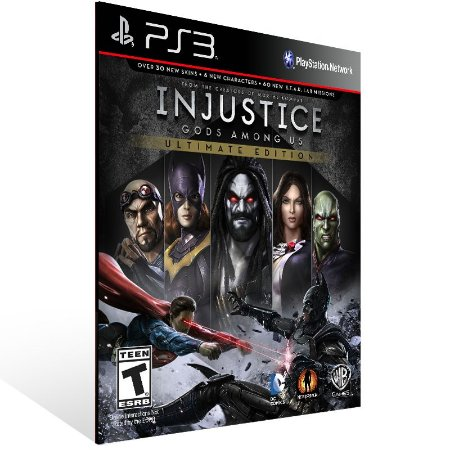 Injustice Gods Among Us Ultimate Edition - Ps3 Psn Mídia Digital