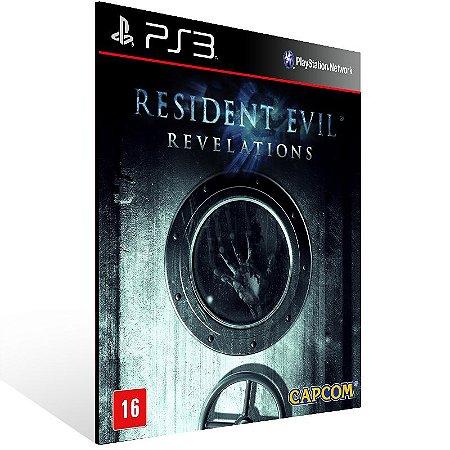 Resident Evil Revelations - Ps3 Psn Mídia Digital