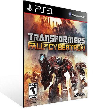 Transformers Fall Of Cybertron Gold Edition - Ps3 Psn Mídia Digital