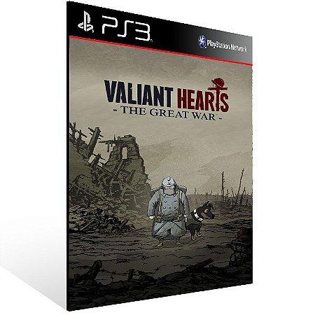 Valiant Hearts The Great War - Ps3 Psn Mídia Digital