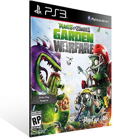 Plants Vs Zombies Garden Warfare - Ps3 Psn Mídia Digital