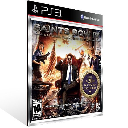 Saints Row Treasure - Ps3 Psn Mídia Digital