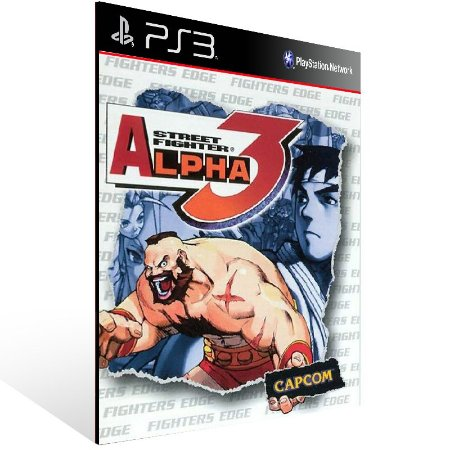 Street Fighter Alpha 3 - Ps3 Psn Mídia Digital