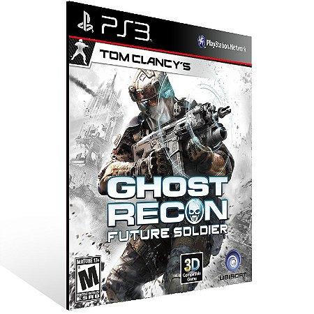 Tom Clancys Ghost Recon Future Soldier - Ps3 Psn Mídia Digital