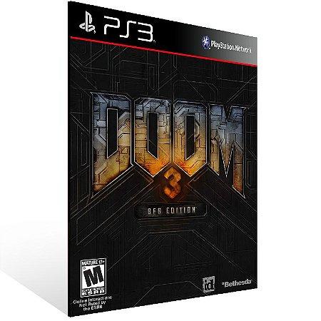 Doom 3 - Ps3 Psn Mídia Digital