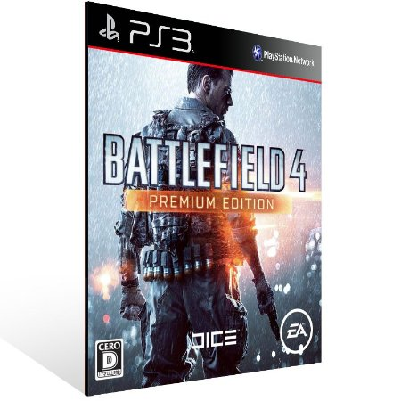 Battlefield 4 Premium Edition - Ps3 Psn Midia Digital