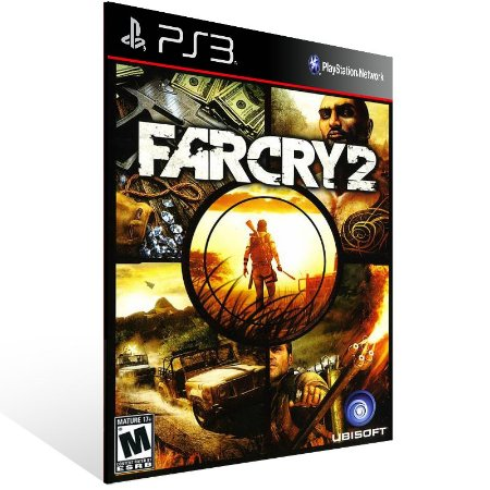 Far Cry 2 - Ps3 Psn Mídia Digital