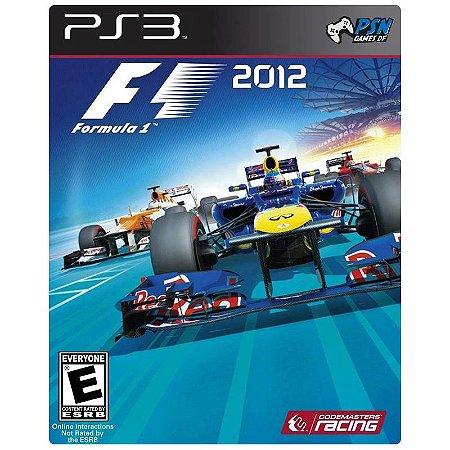 F1 2012 PS3 - Mídia Digital