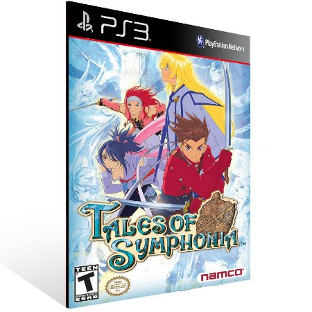Tales Of Symphonia - Ps3 Psn Mídia Digital