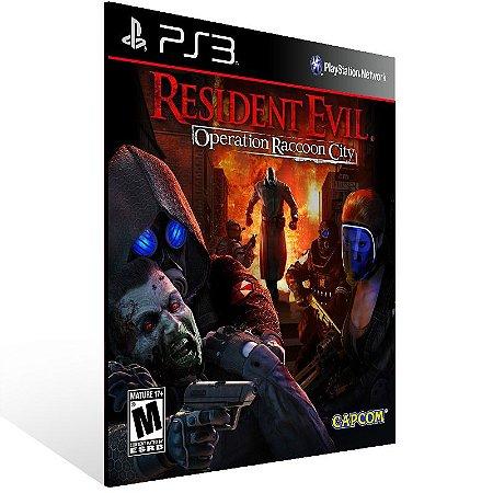Resident Evil Operation Raccoon City - Ps3 Psn Mídia Digital