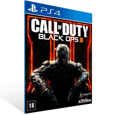 Call Of Duty Black Ops 3 - Ps4 Psn Mídia Digital