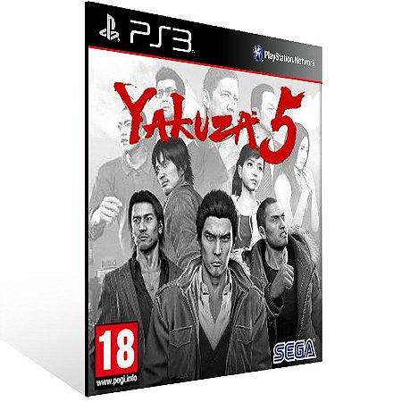 Yakuza 5 - Ps3 Psn Mídia Digital