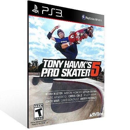 Tony Hawks Pro Skater 5 - Ps3 Psn Mídia Digital