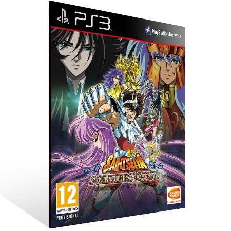 Saint Seiya Soldiers' Soul - Ps3 Psn Mídia Digital