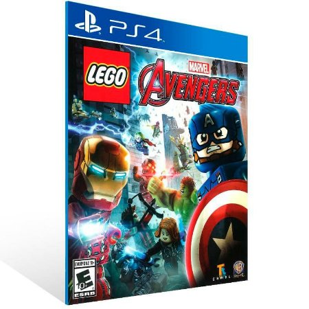 Lego Marvel Avengers - Ps4 Psn Mídia Digital