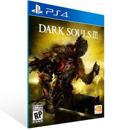 Dark Souls 3 - Ps4 Psn Mídia Digital