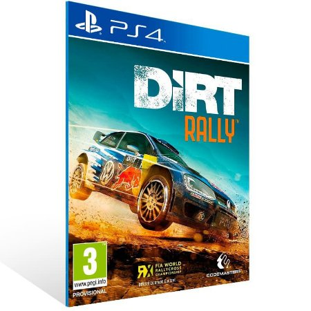 Dirt Rally - Ps4 Psn Mídia Digital