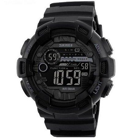 Relógio Masculino Skmei Digital Esportivo Militar 1243 Preto