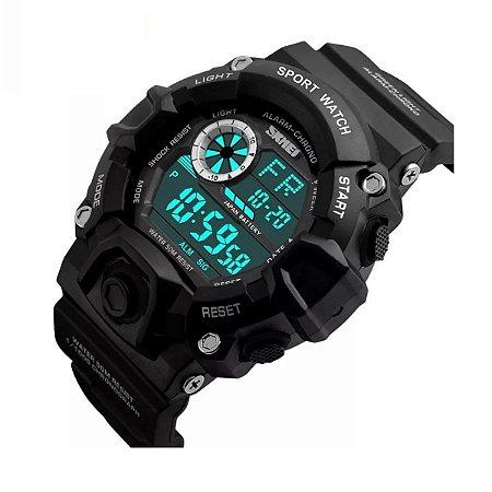 Relógio Masculino Skmei Digital Esportivo 1019 Preto